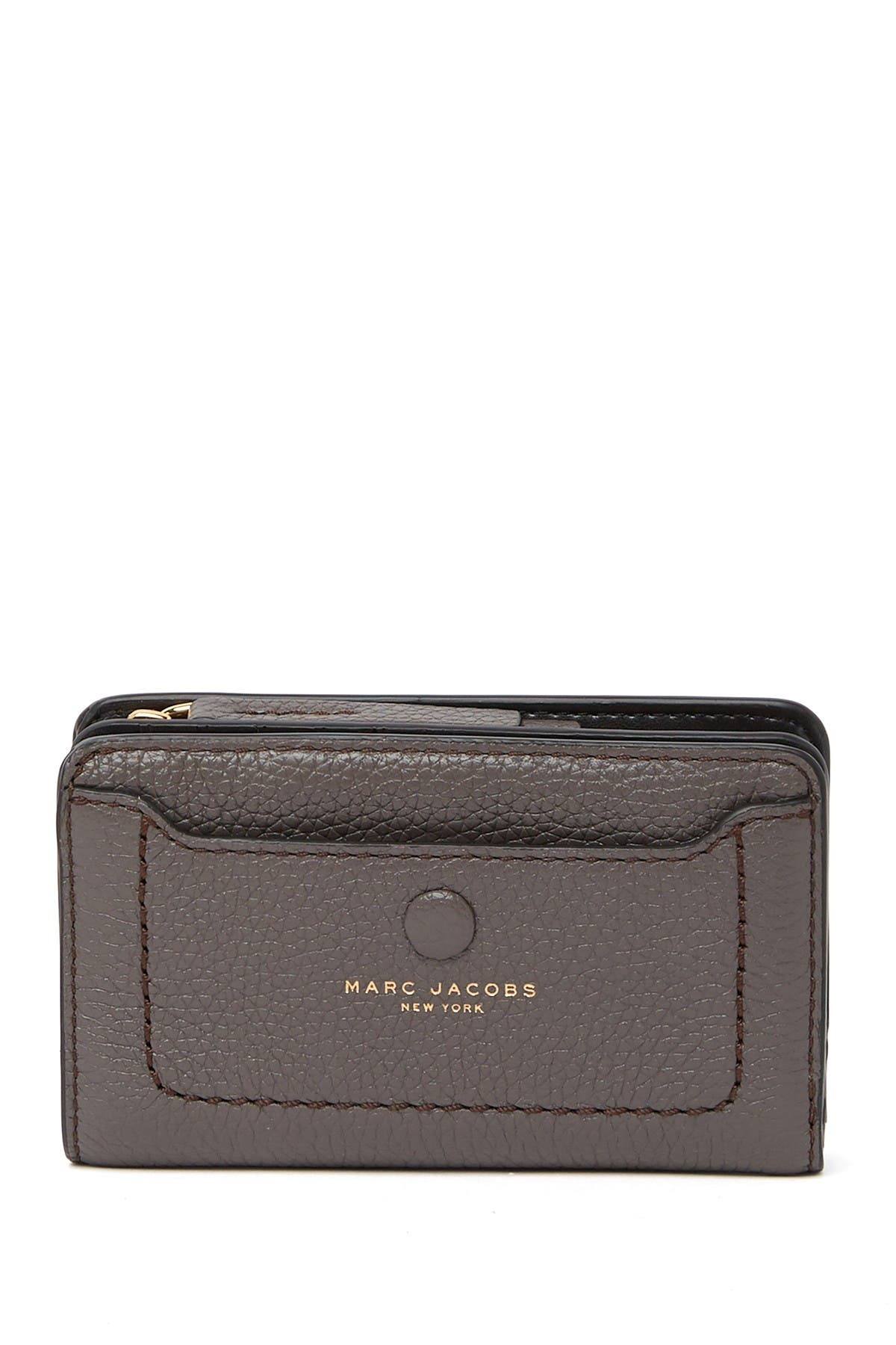 Image of Marc Jacobs Empire City Compact Leather Wallet