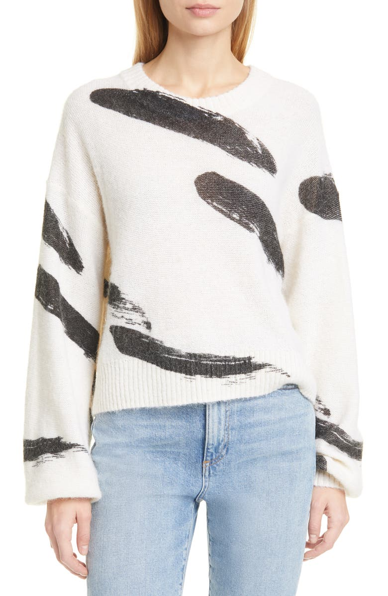 JOIE Hassina Sweater, Main, color, PORCELAIN
