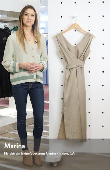 Reeba Crisscross Satin Dress, sales video thumbnail