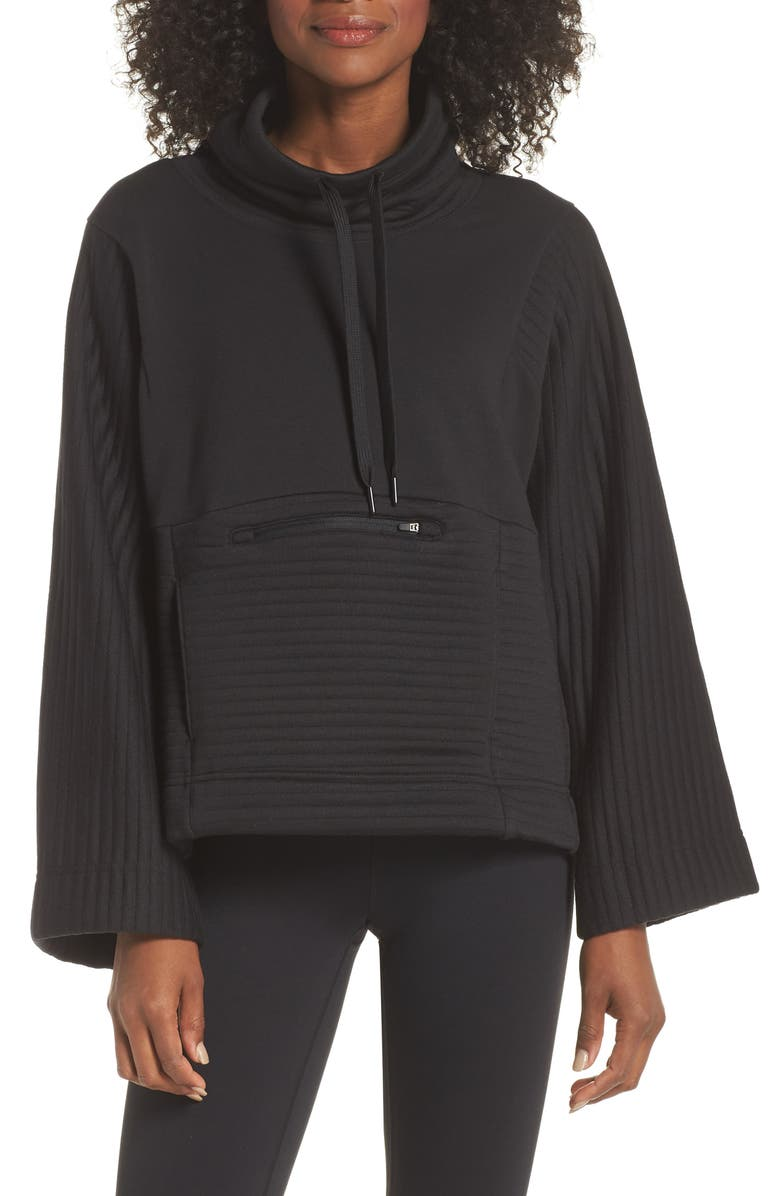 THE NORTH FACE Terra Metro Funnel Neck Sweatshirt, Main, color, 001