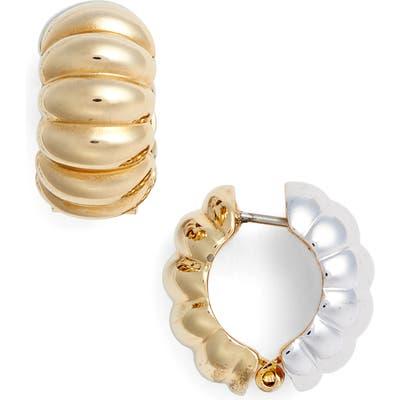 Erwin Pearl Two-Tone Shrimp Earrings