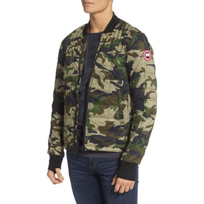 Canada Goose Dunham Slim Fit Packable 625 Fill Power Down Jacket, Green