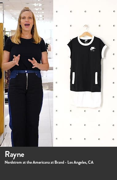 Kids' Sportswear Air T-Shirt Dress, sales video thumbnail
