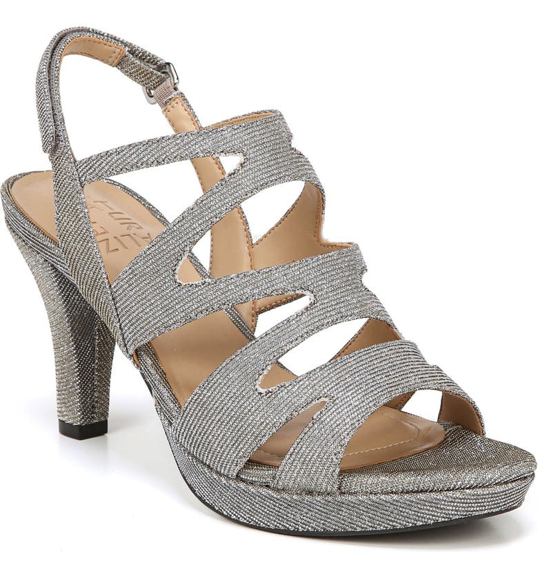 NATURALIZER 'Pressley' Slingback Platform Sandal, Main, color, 043
