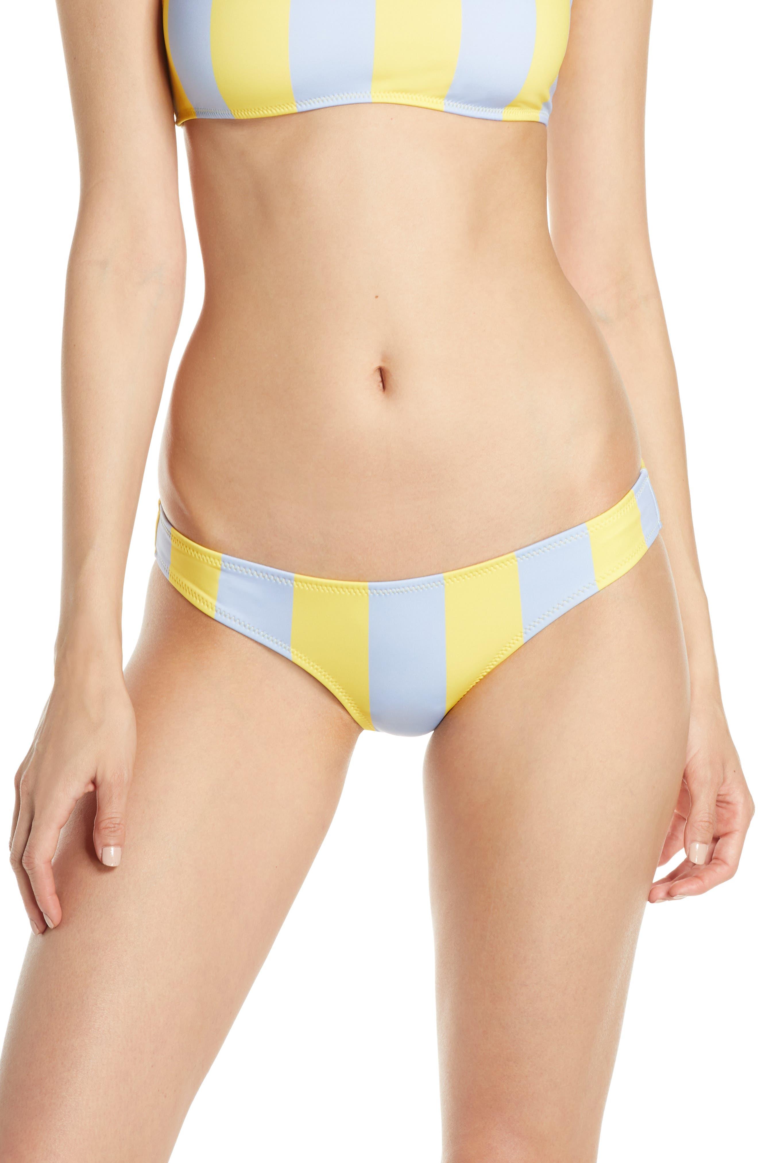 Solid & Striped Elle Bikini Bottoms, Blue