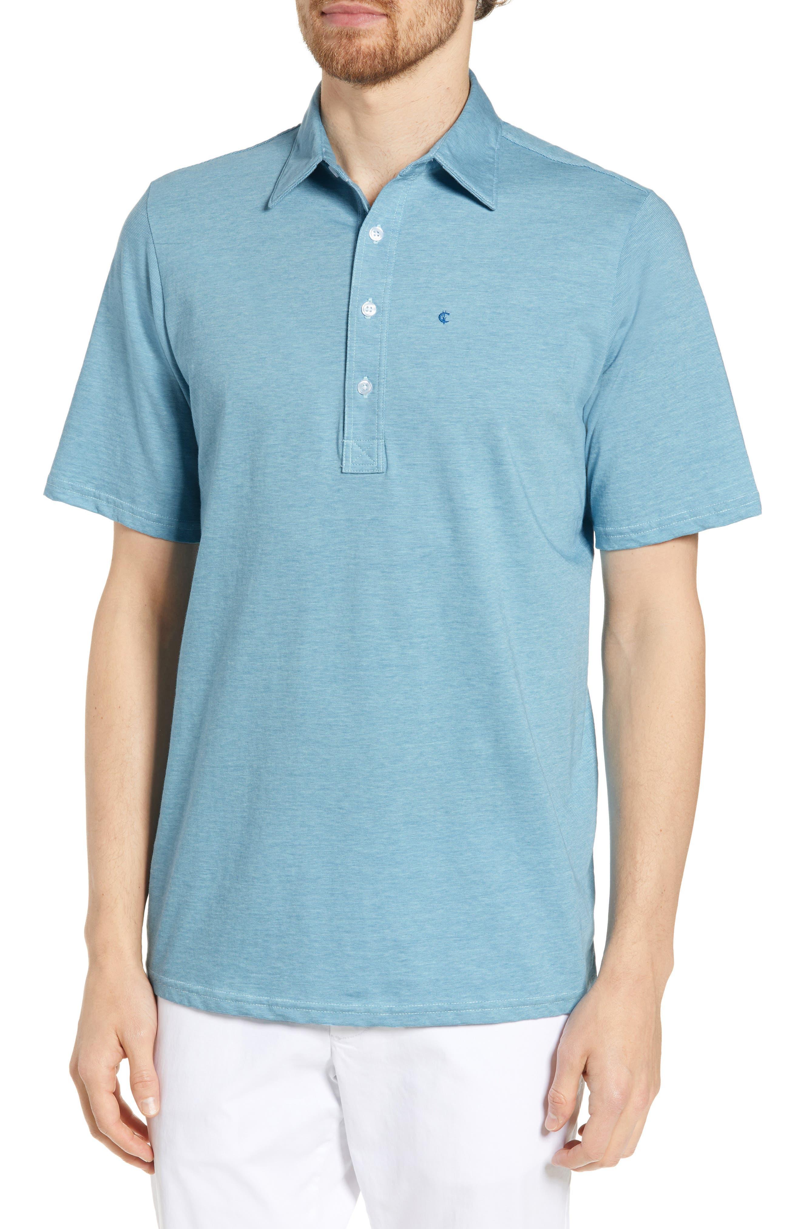 Criquet Range Regular Fit Jersey Polo, Blue