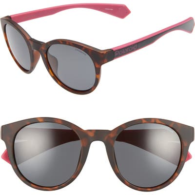 Polaroid 52Mm Polarized Round Sunglasses -