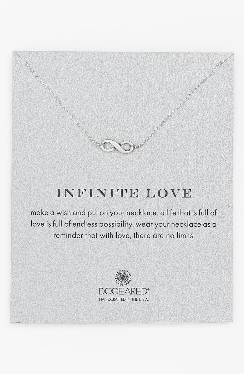 DOGEARED 'Reminder - Memories' Boxed Pendant Necklace, Main, color, 040