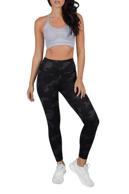 Image of 90 Degree By Reflex Lux Supportive Waistband Ankle Leggings