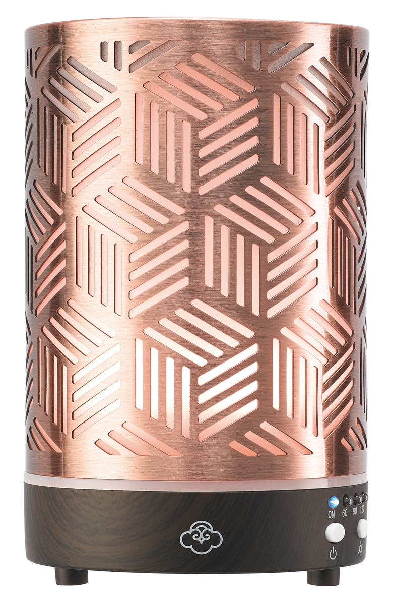 SERENE HOUSE Array Ultrasonic Cool Mist Aromatherapy Diffuser, Main, color, COPPER