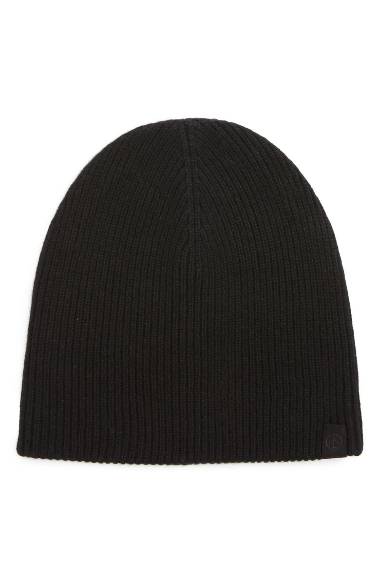 RAG & BONE Ace Cashmere Beanie, Main, color, 001