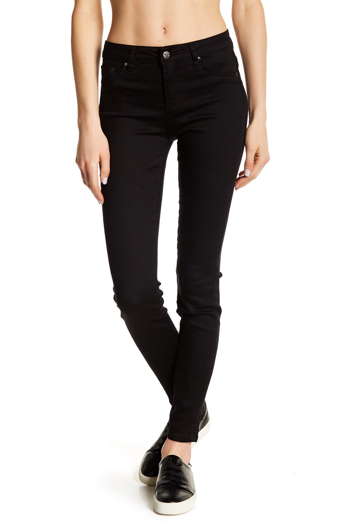 Image of Tractr Skinny Ankle Jeans