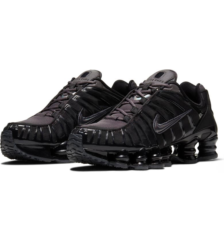 NIKE Shox TL Sneaker, Main, color, THUNDER GRAY/ METALLIC