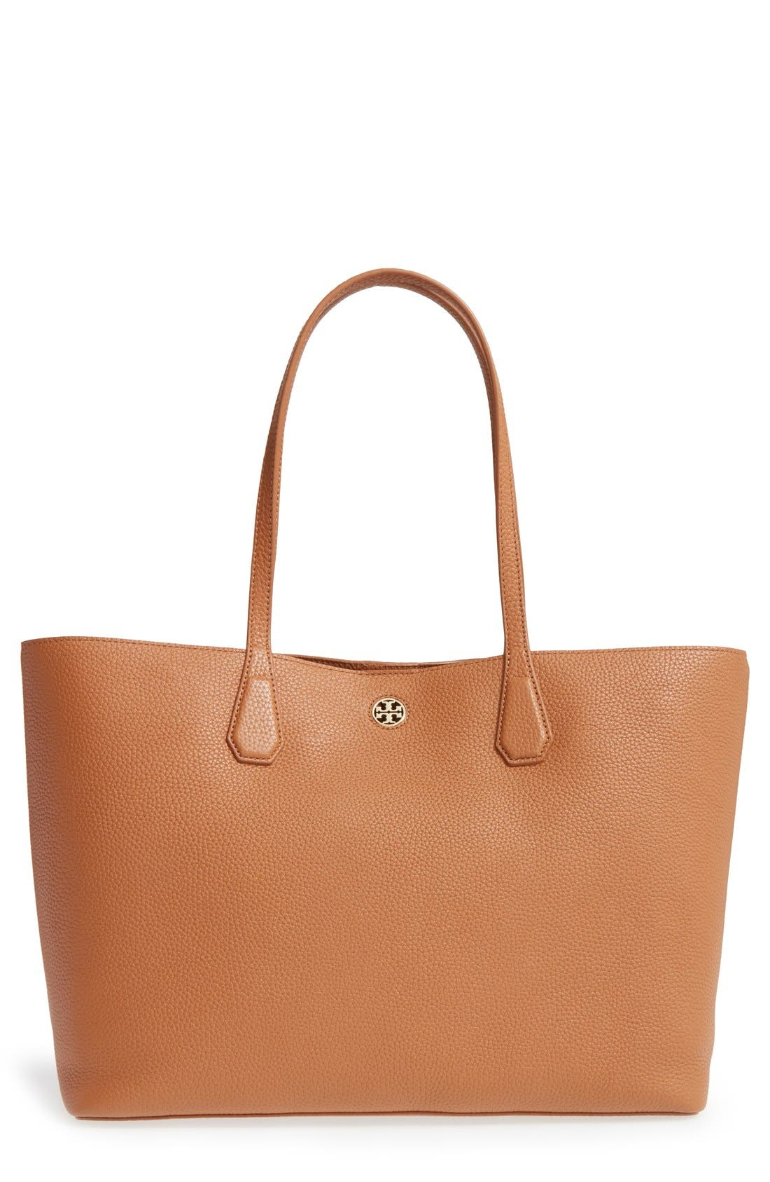 ,                             'Perry' Leather Tote,                             Main thumbnail 8, color,                             200