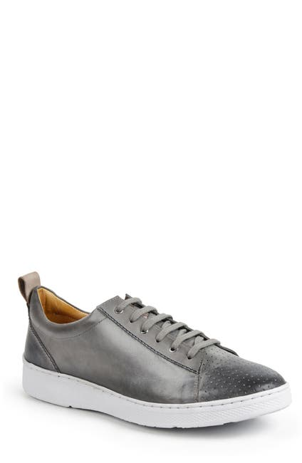 Image of Sandro Moscoloni Myron Perforated Toe Lace-Up Sneaker