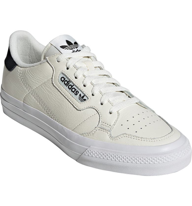 ADIDAS Continental Vulc Sneaker, Main, color, WHITE/ WHITE/ NAVY
