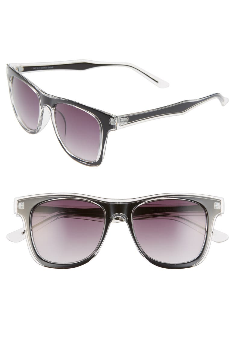 BP. Harren 52mm Sunglasses, Main, color, 001