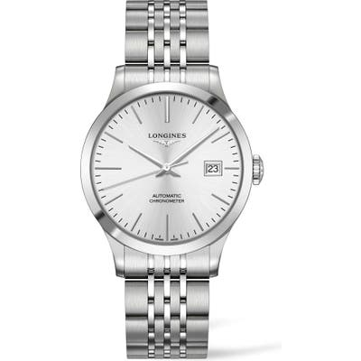 Longines Record Automatic Bracelet Watch,