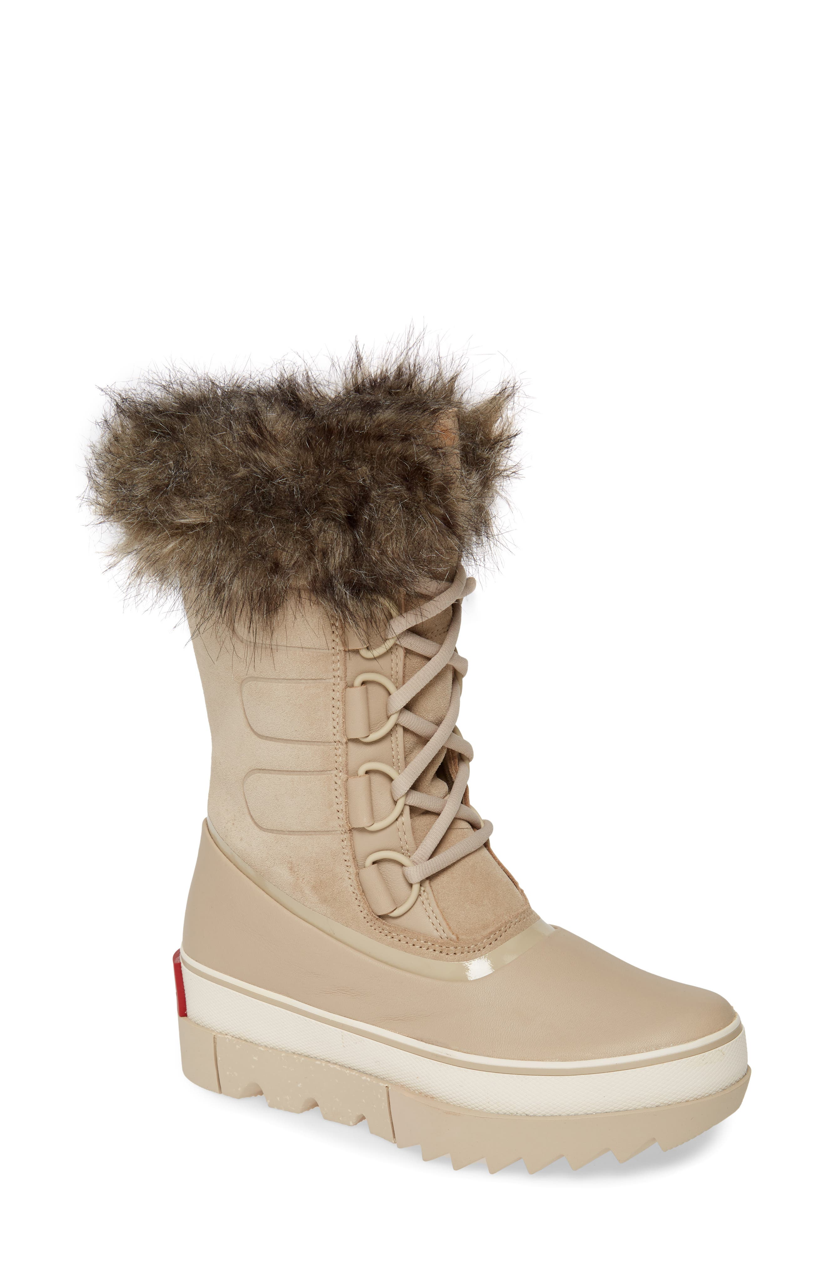 SOREL Joan of Arctic Next Faux Fur Waterproof Snow Boot (Women)