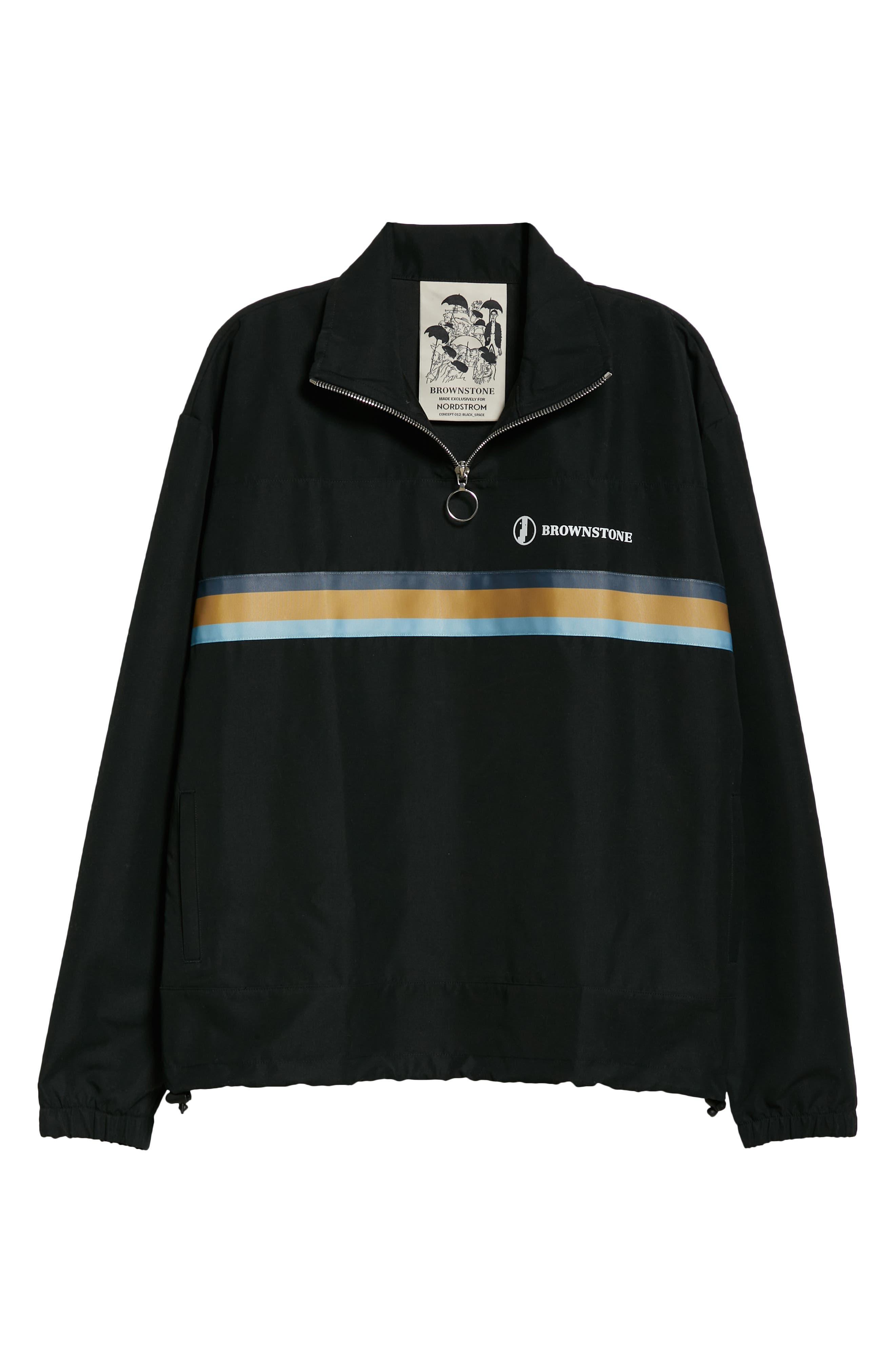 Brownstone Pullover Track Jacket