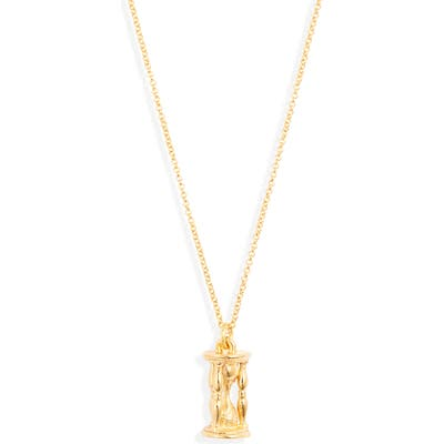 Lux Divine Time Pendant Necklace