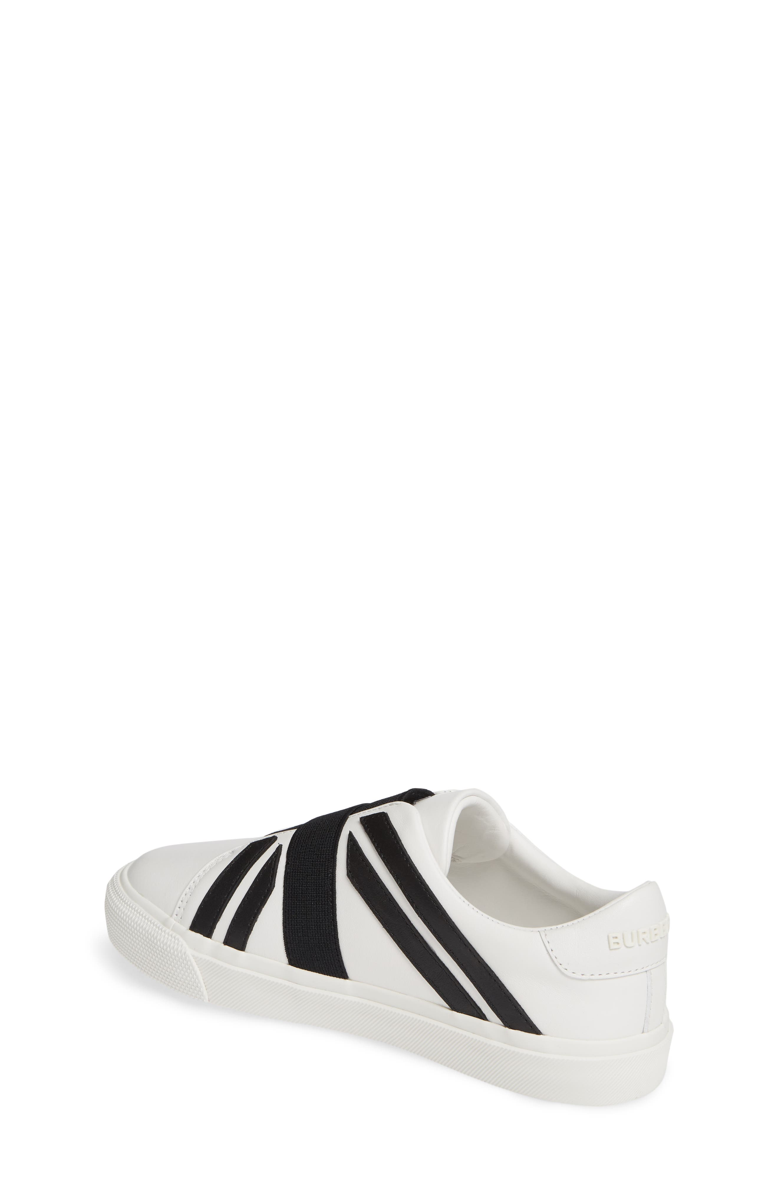 ,                             Cedbury Union Jack Sneaker,                             Alternate thumbnail 2, color,                             OPTIC WHITE/BLACK