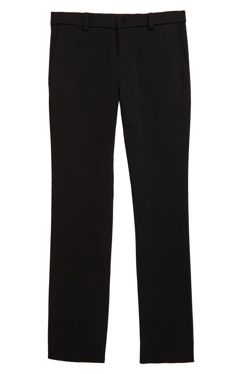 TALLIA Stretch Trousers, Main, color, BLACK