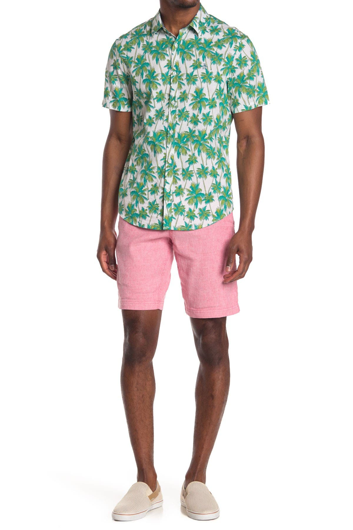 Image of Tommy Bahama Beach Linen Blend Shorts