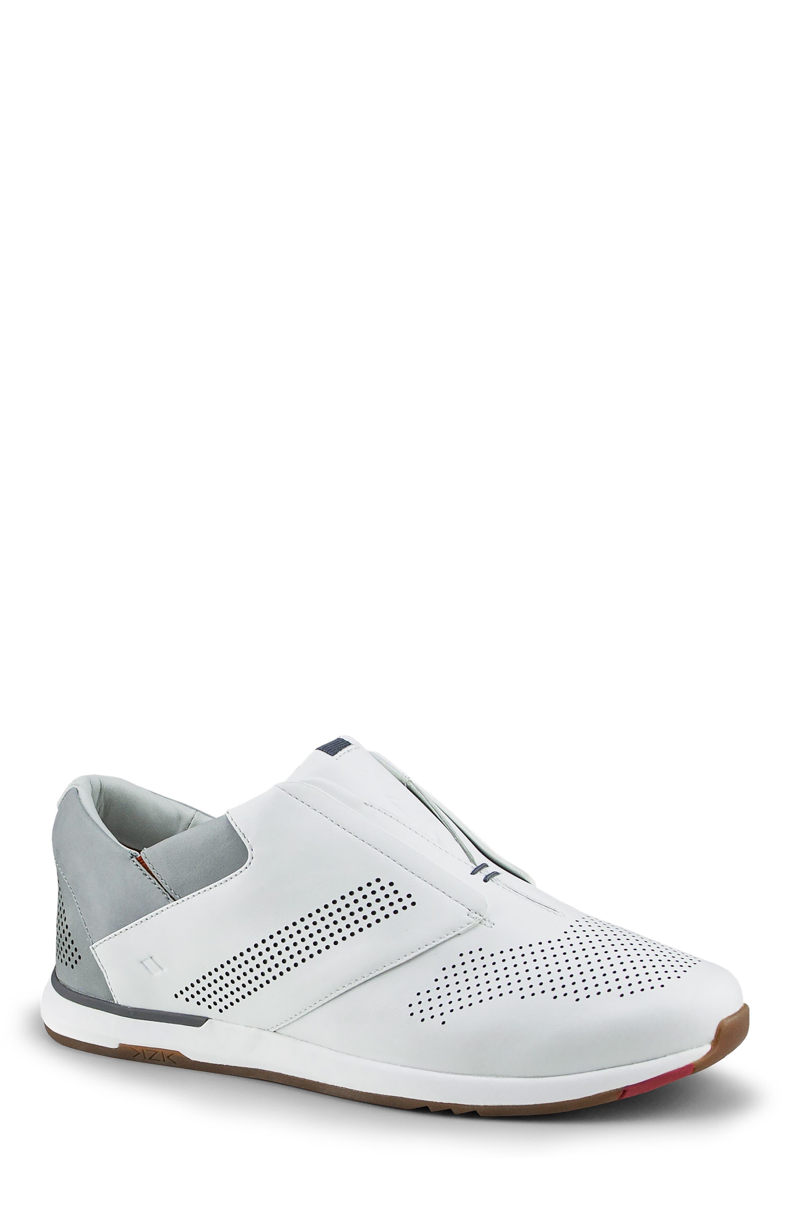 Kizik Dubai Slip-On Sneaker- White