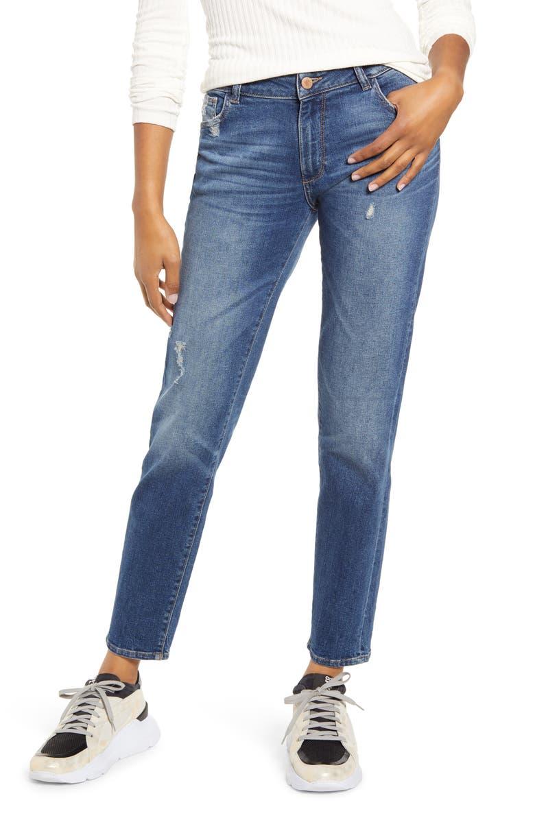 DL1961 Riley Boyfriend Jeans, Main, color, ADAMS