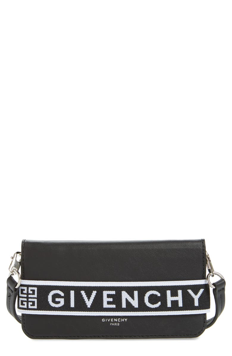 GIVENCHY Urban iPhone 7/8 Crossbody Cover, Main, color, 001