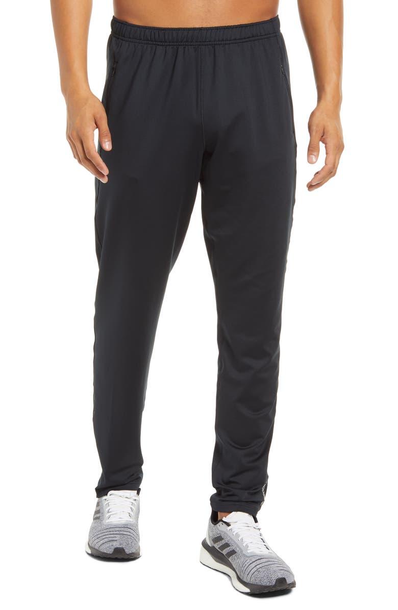 BROOKS Spartan Men's Running Pants, Main, color, BLACK