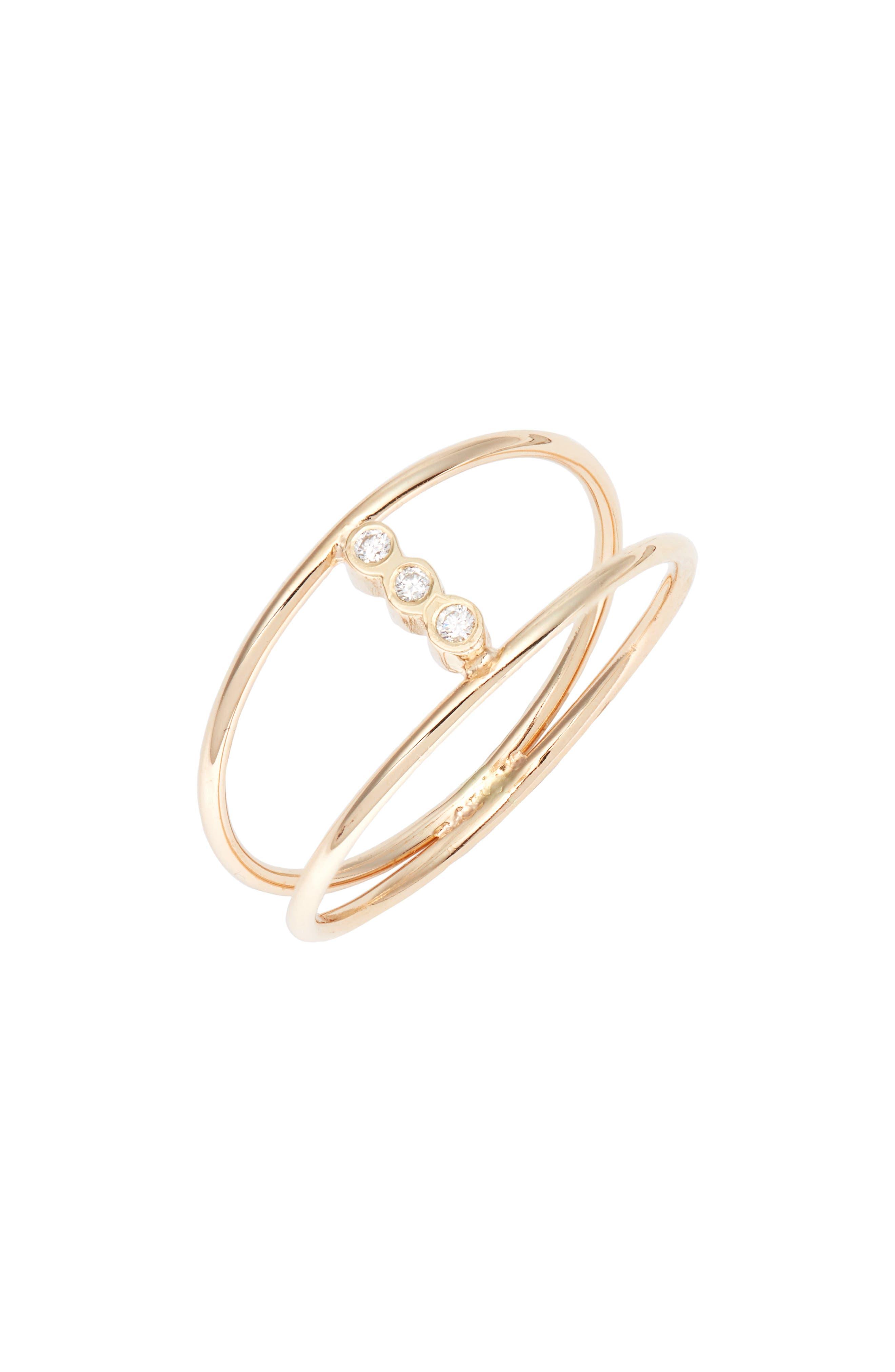 Zoe Chicco Diamond Openwork Ring