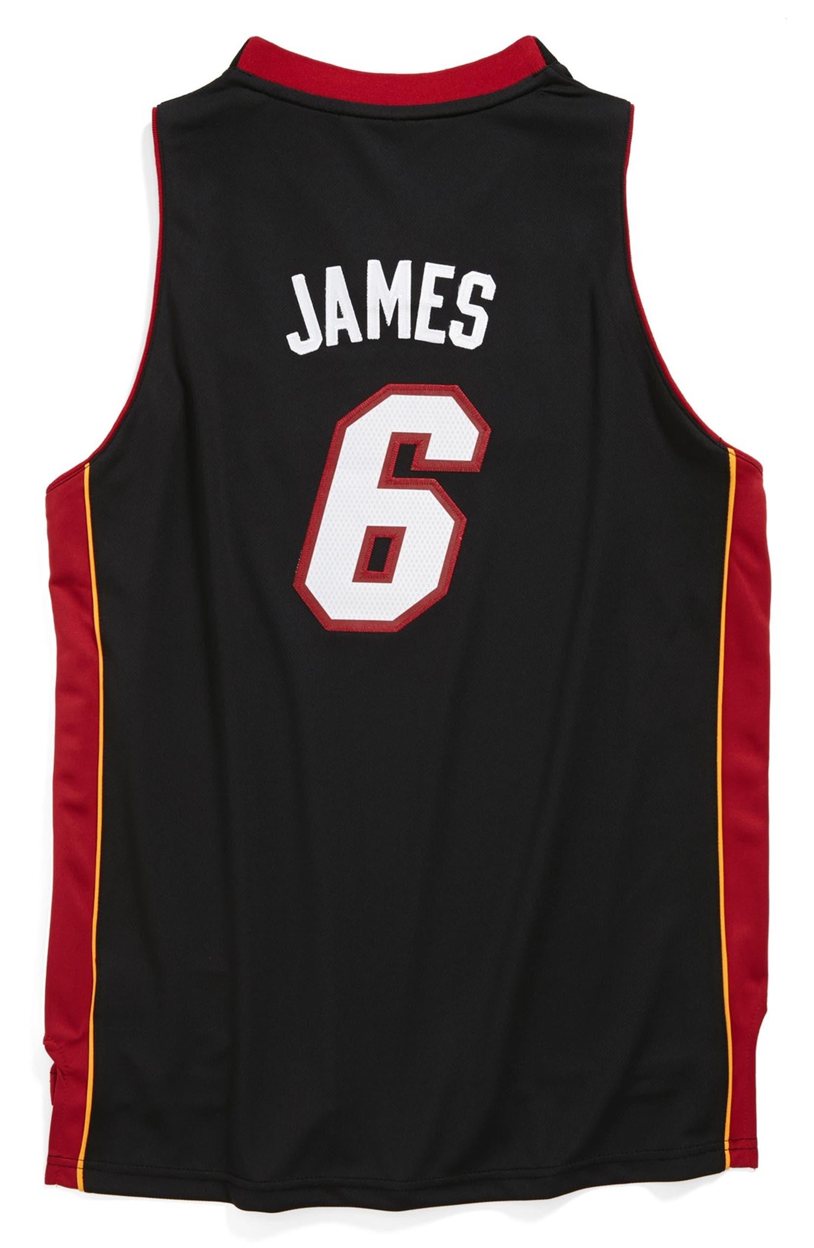 size 40 be525 35b74 adidas 'Miami Heat, LeBron James - Swingman Road' Jersey ...