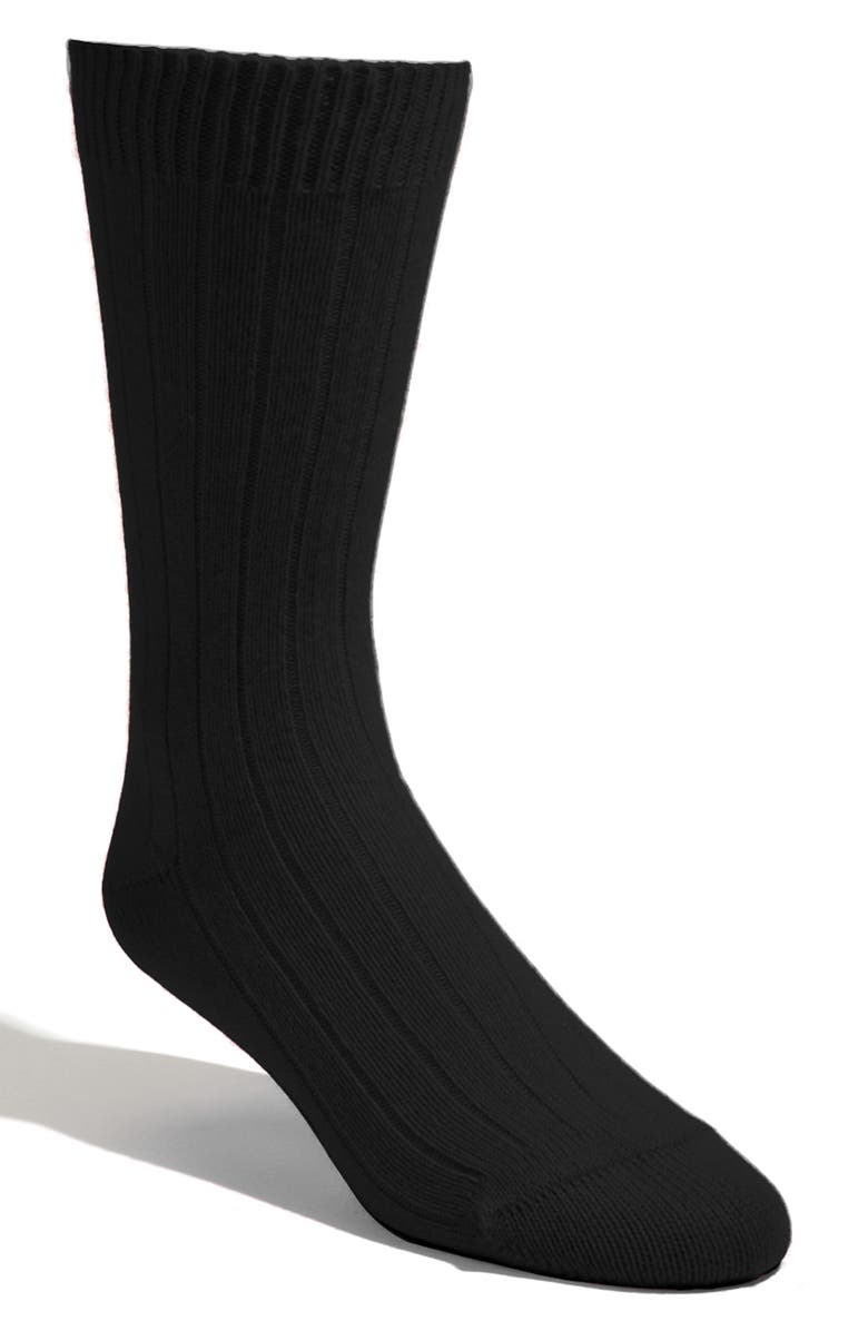 PANTHERELLA Cashmere Blend Socks, Main, color, 001