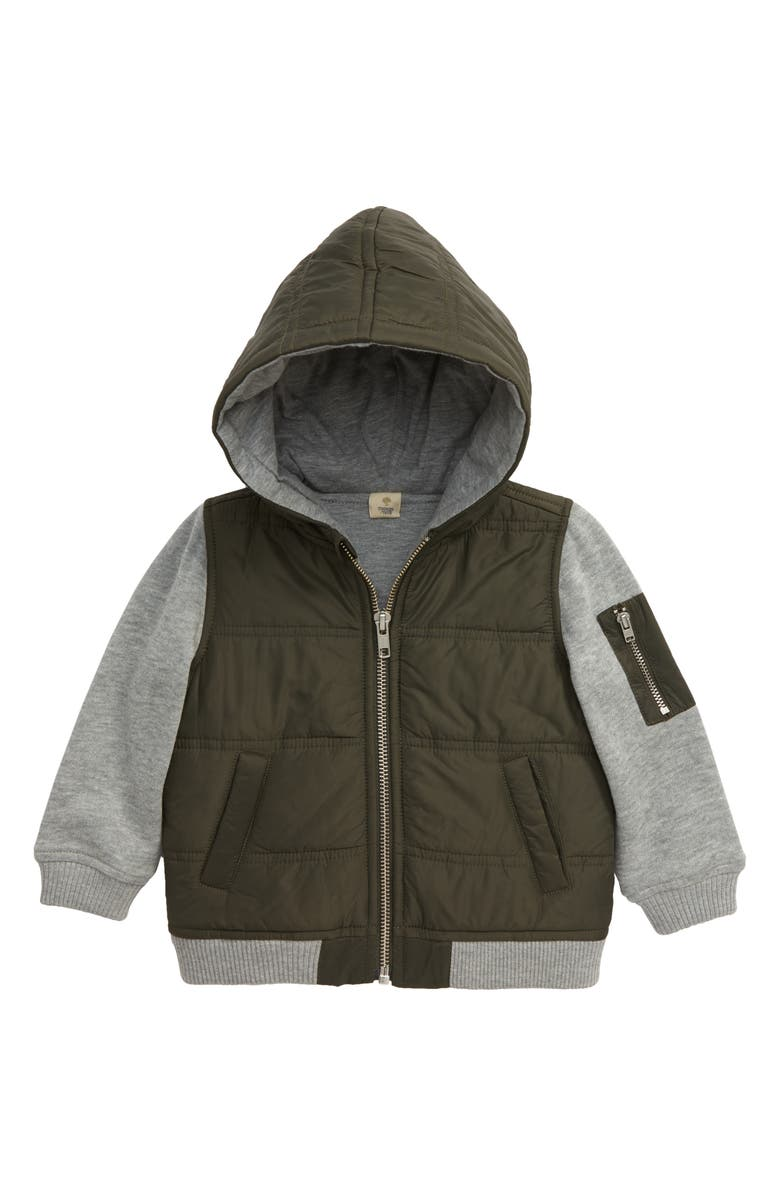 Mountain Crest Nylon & Fleece Jacket by Tucker + Tate