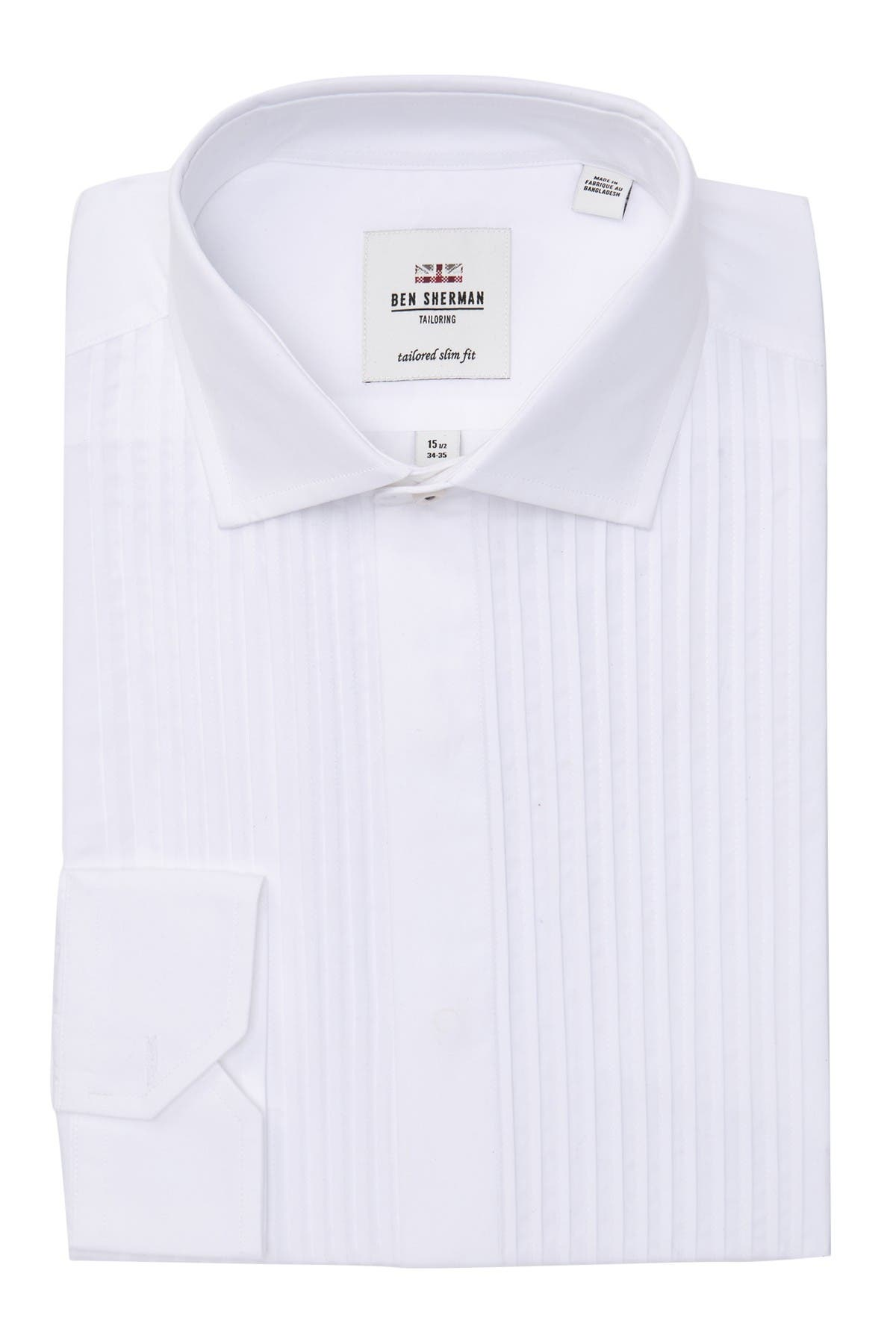 Aplaudir Marina Reclamación  Ben Sherman | Dinner Tux Tailored Slim Fit Dress Shirt | Nordstrom Rack