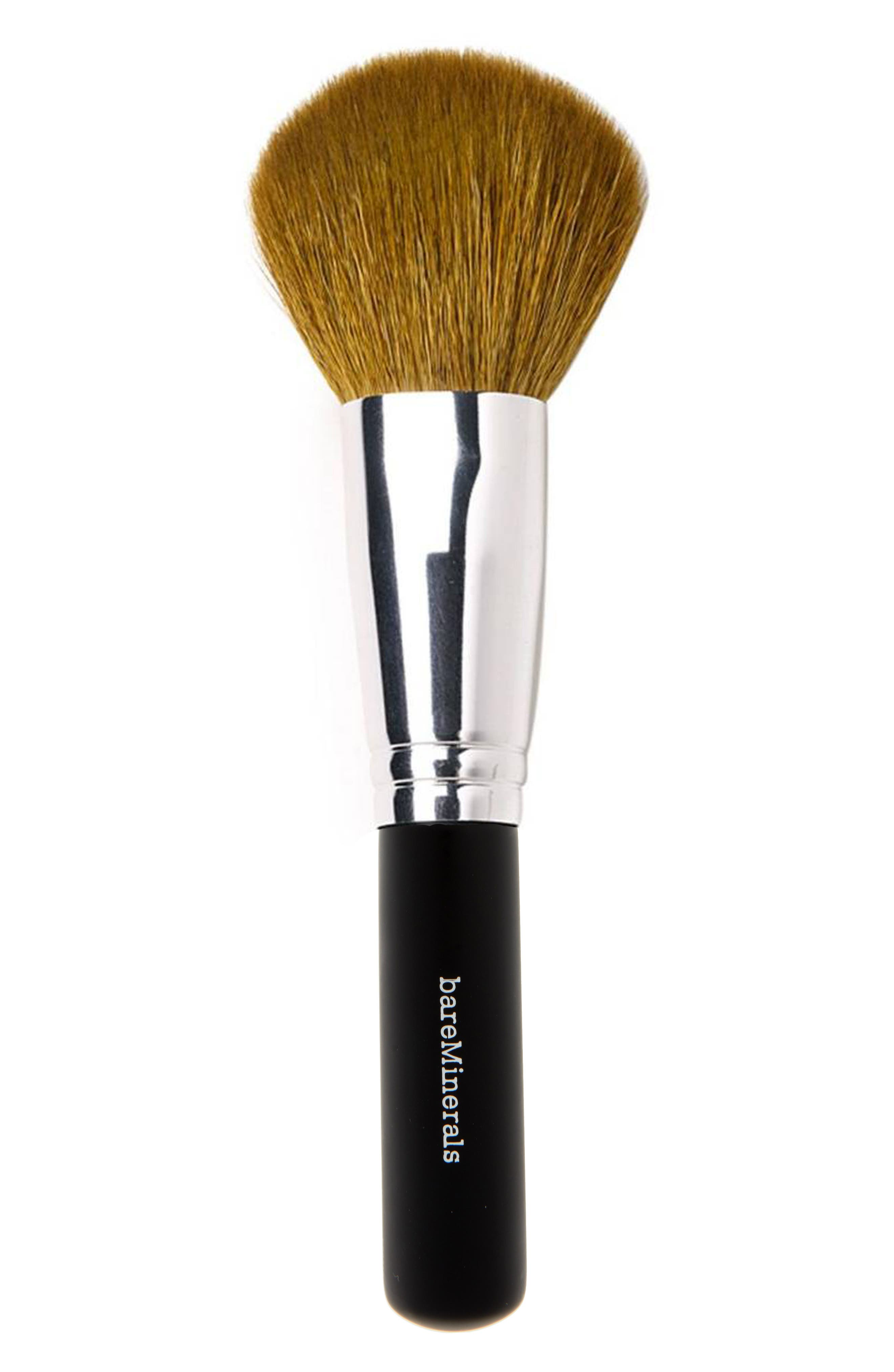 What it is: A natural-hair face brush with a full, tapered head that provides medium-to-full coverage. What it does: Ideal for use with foundation, blush, bronzer, highlighter or setting and finishing powder, this brush delivers buildable coverage when applied in broad, sweeping strokes all over the face. With natural fibers chosen for their quality, the semi-round brush shape makes it unbelievably versatile and a go-to for every complexion