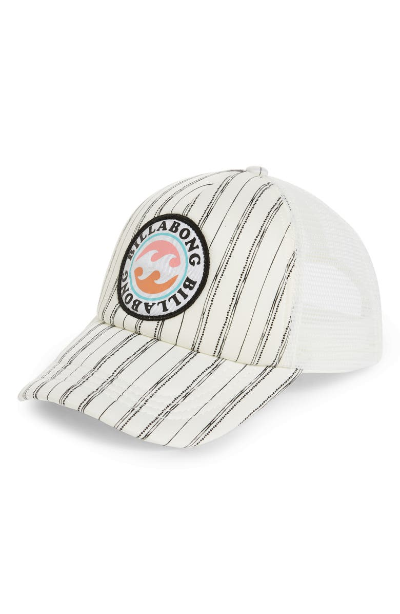 BILLABONG Shenanigans Trucker Hat, Main, color, COOL WIP