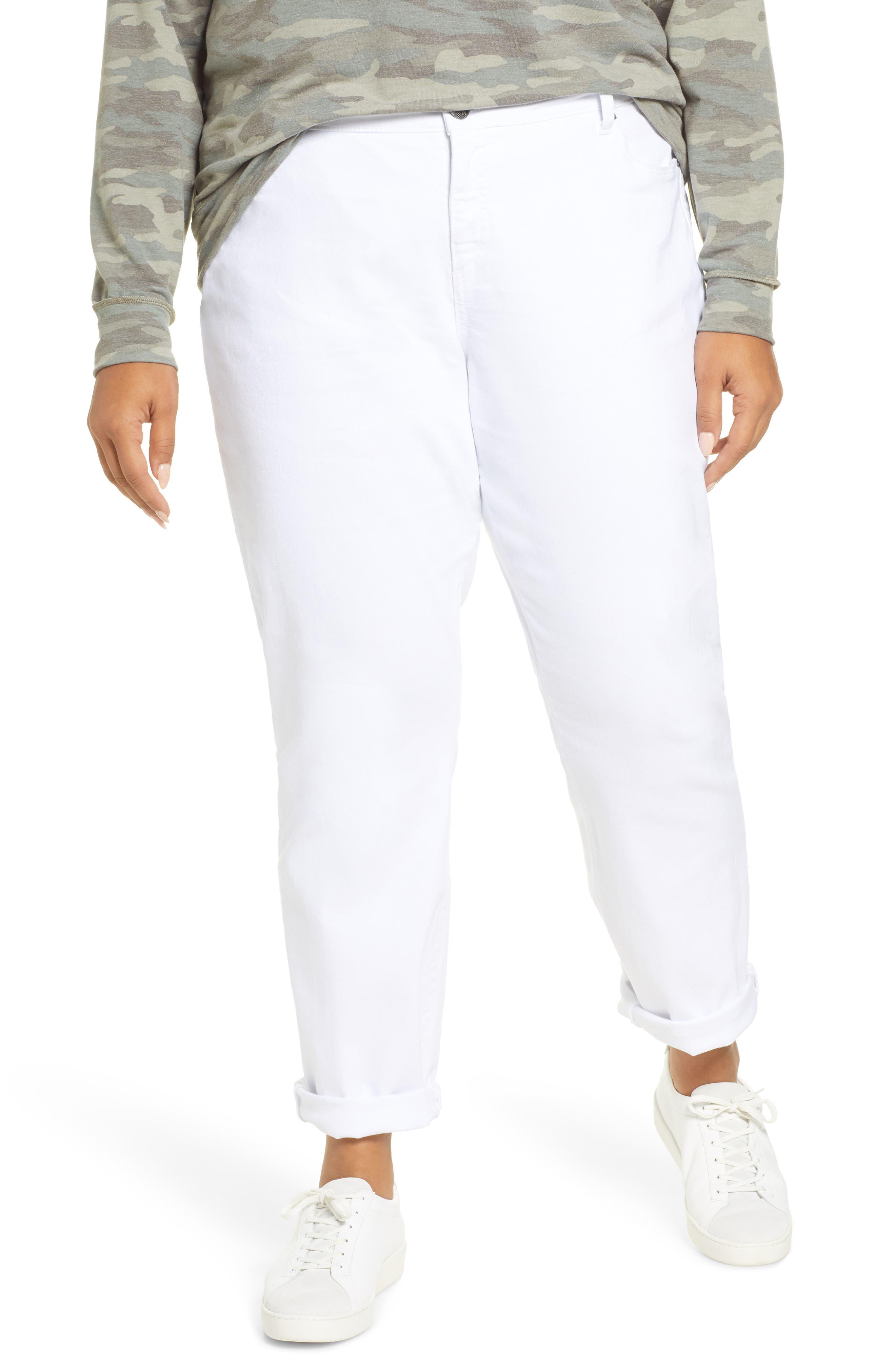 Kut from the Kloth Slouchy Boyfriend Jeans (Plus Size)