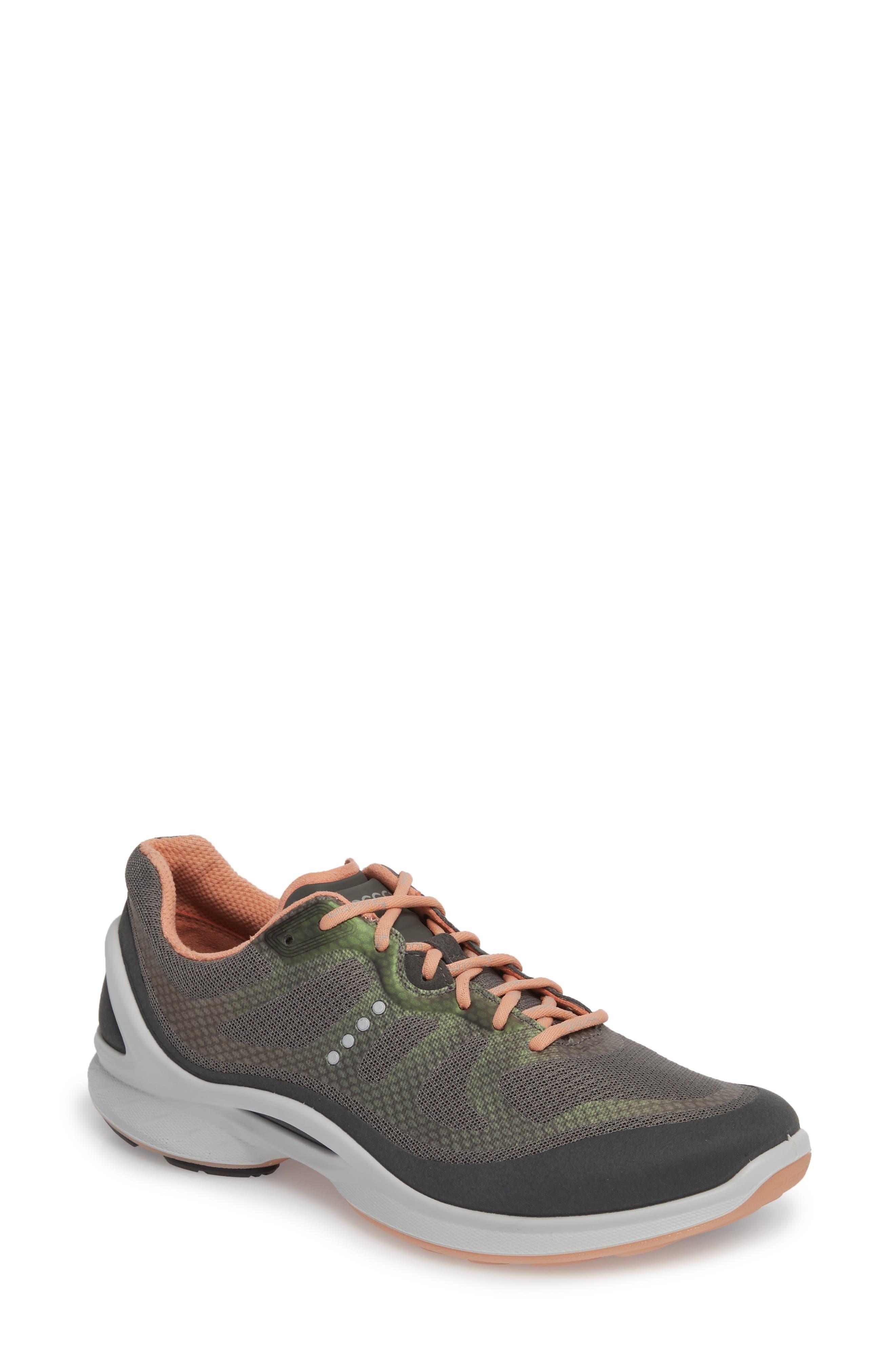 Ecco Biom Fjuel Tie Sneaker, Grey