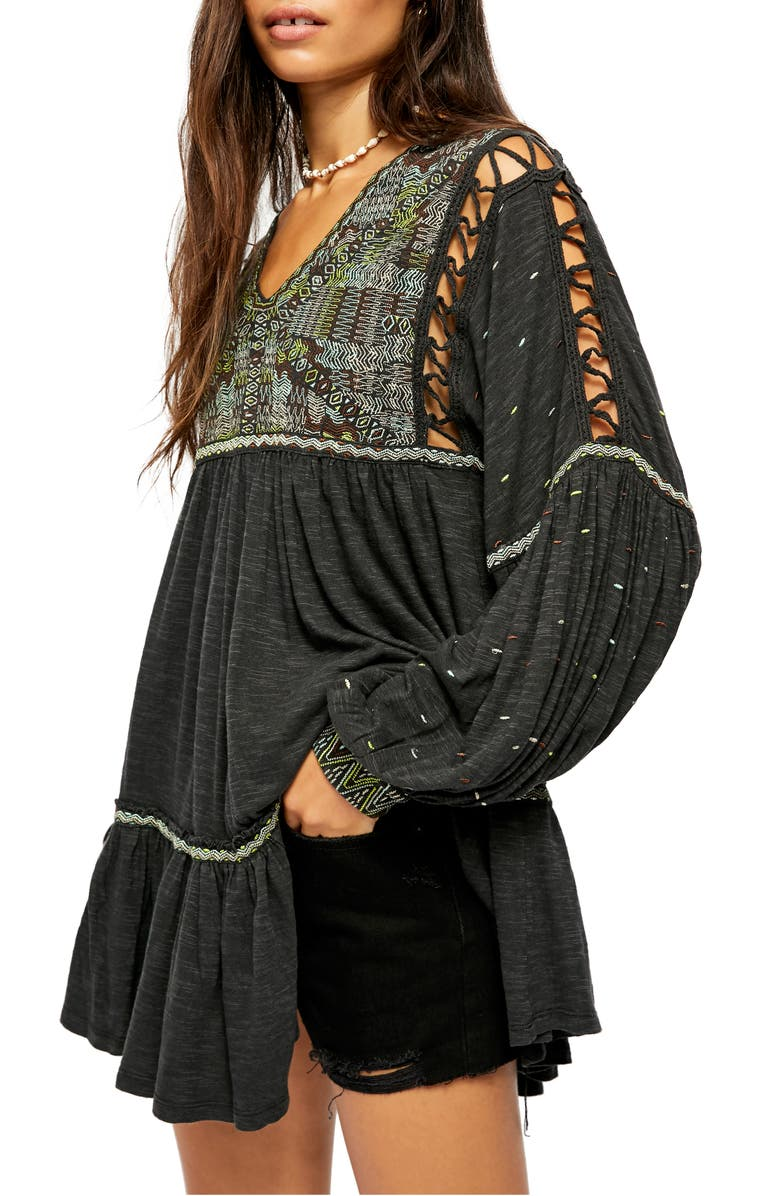 FREE PEOPLE Much Love Tunic, Main, color, 001