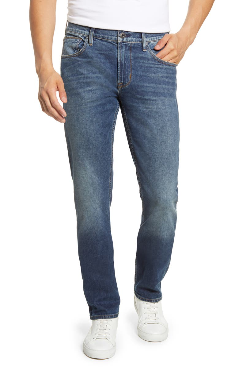 HUDSON JEANS Byron Straight Leg Stretch Jeans, Main, color, ONSIDE