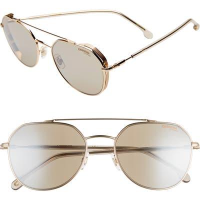 Carrera Eyewear 5m Polarized Aviator Sunglasses - Rose Gold