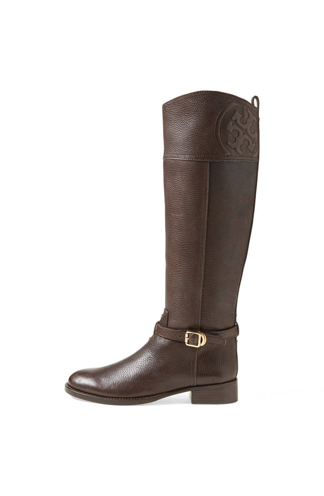 ,                             'Marlene' Leather Riding Boot,                             Alternate thumbnail 9, color,                             212