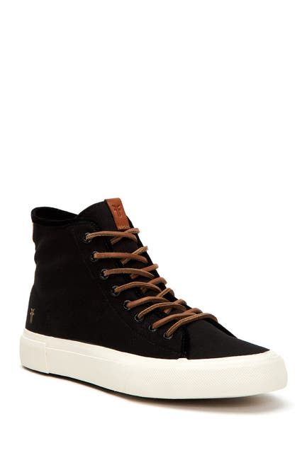 Image of Frye Ludlow Canvas High-Top Sneaker