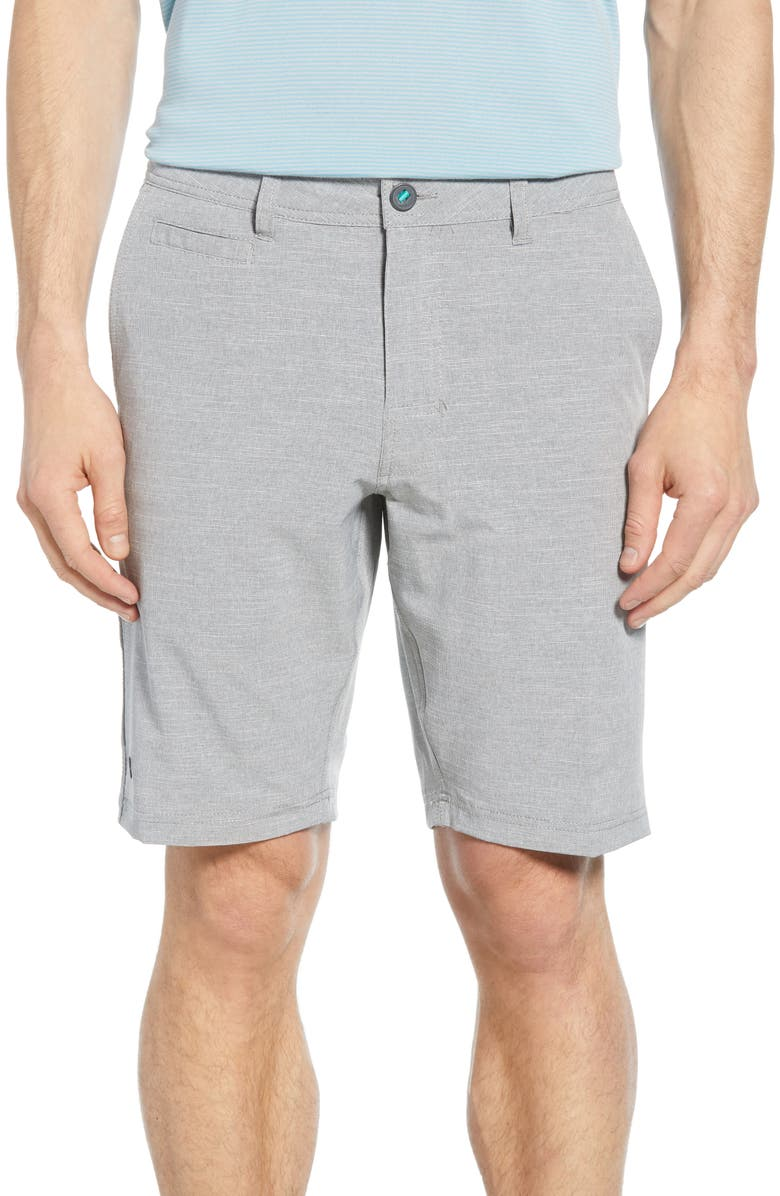 LINKSOUL Recycled Boardwalker Shorts, Main, color, GREY