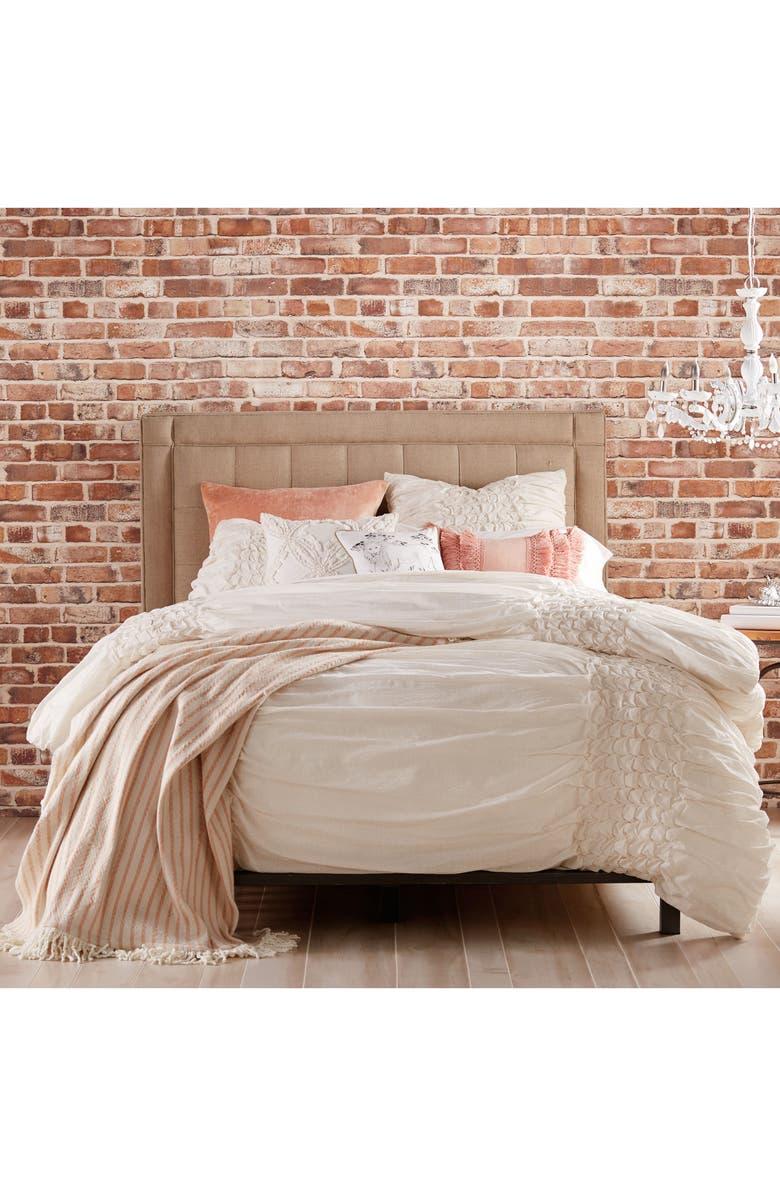 PERI HOME Triangle Braid Comforter & Sham Set, Main, color, 250