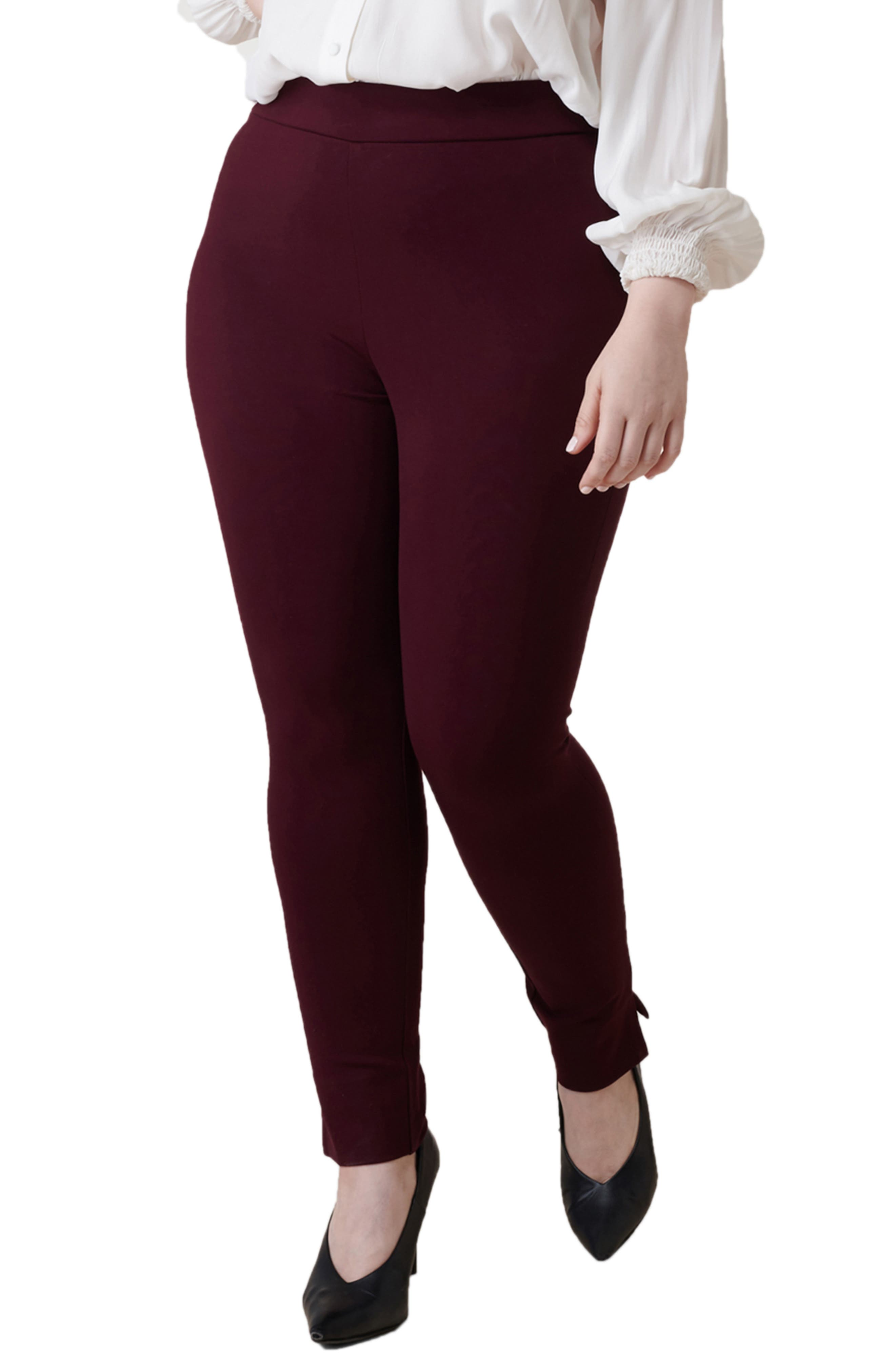 Skinny Compression Knit Pants
