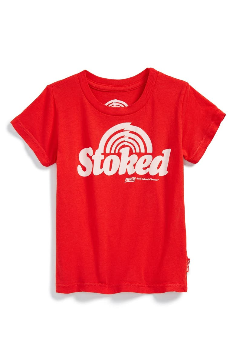 3b77918ee Prefresh 'Stoked' Graphic T-Shirt (Baby Boy) | Nordstrom